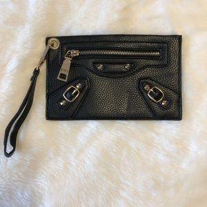 Bcbg Paris black wristlet purse